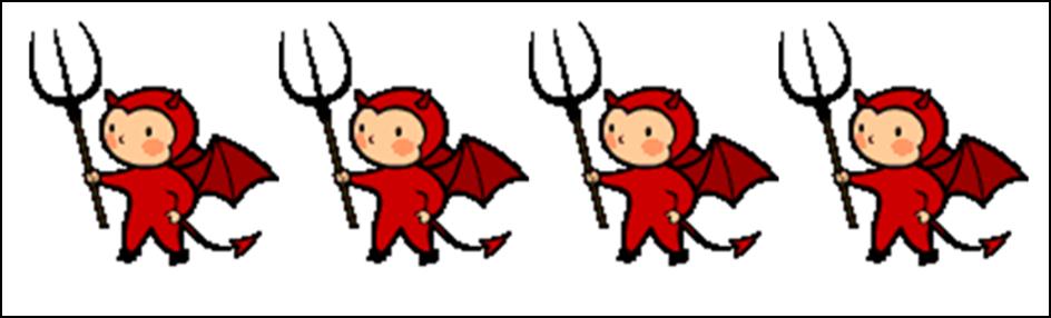 Halloween devils